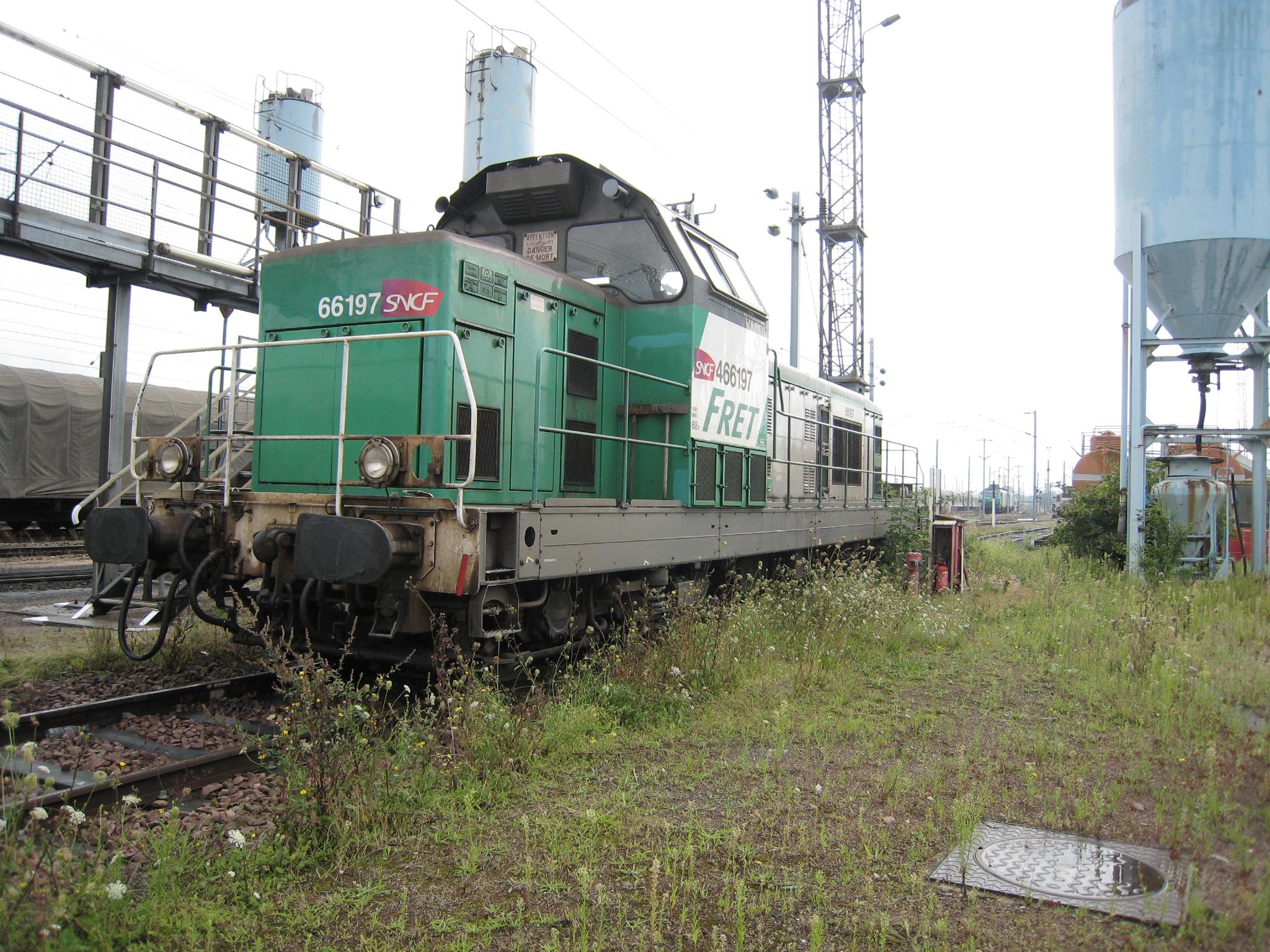 Locomotive BB66000 Lille Délivrance