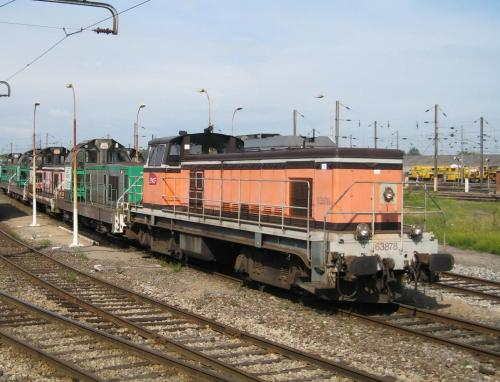 Locomotive BB63000 Somain