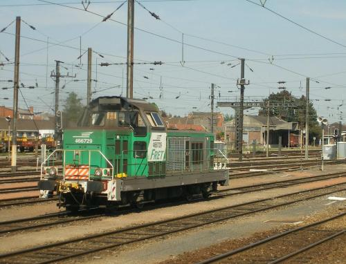 Locomotive BB66000 Somain