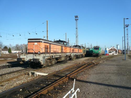 Photos au fil du rail BB 63000