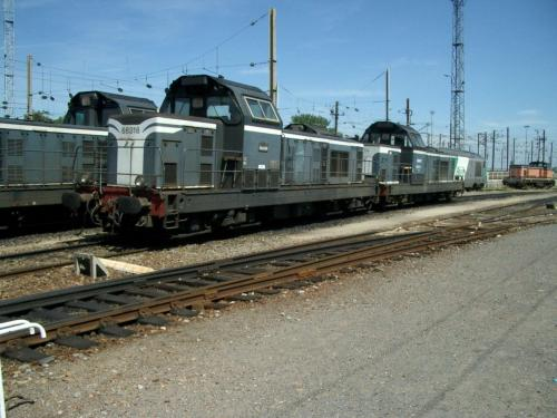Photos au fil du rail BB 66400 001