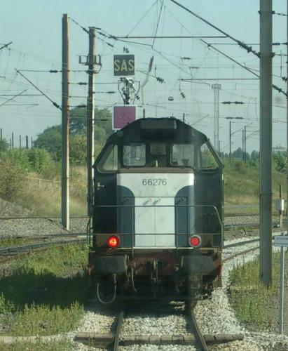 Photos au fil du rail BB 66400 0030