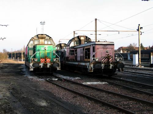 Photos au fil du rail BB 66400 006