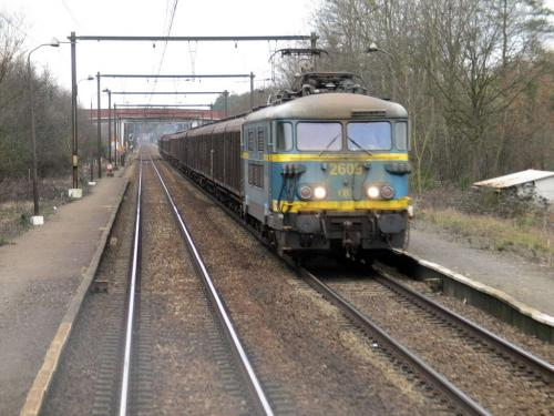 Photos au fil du rail Locomotives électriques SNCB NMBS doorrit 05
