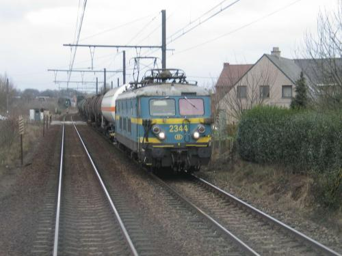 Photos au fil du rail Locomotives électriques SNCB NMBS doorrit 06