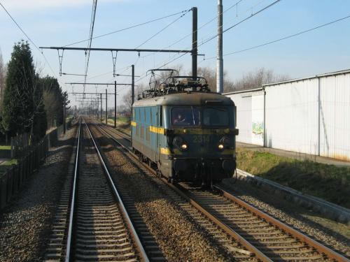 Photos au fil du rail Locomotives électriques SNCB NMBS doorrit 07