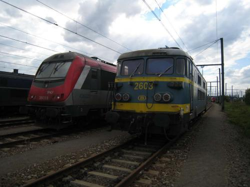 Photos au fil du rail Locomotives électriques SNCB NMBS doorrit 11