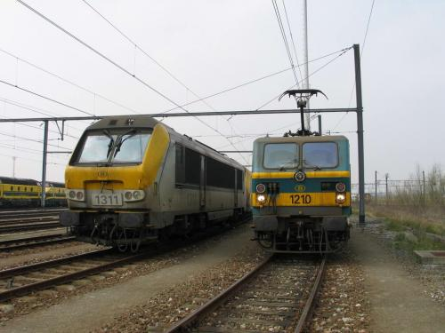 Photos au fil du rail Locomotives électriques SNCB NMBS doorrit 12