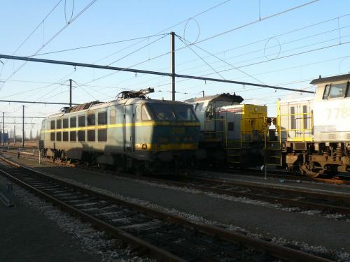 Photos au fil du rail Locomotives électriques SNCB NMBS doorrit 17
